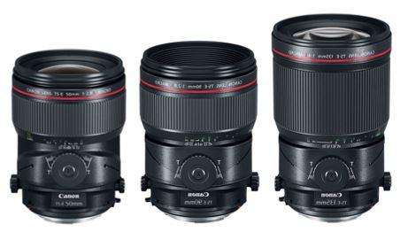 I nuovi modelli Tilt Shift di Canon